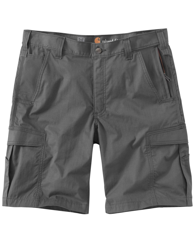 d51e895904 Zoomed Image Carhartt Men's Dark Khaki Force Extremes Cargo Shorts ,  Charcoal Grey, ...