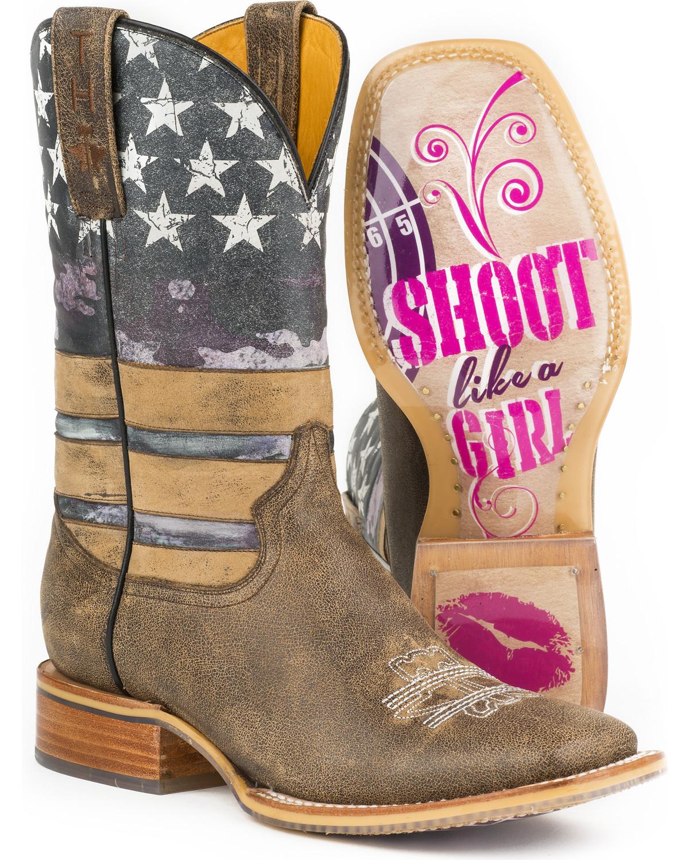 Tin Haul Women S American Woman Western Boots Boot Barn