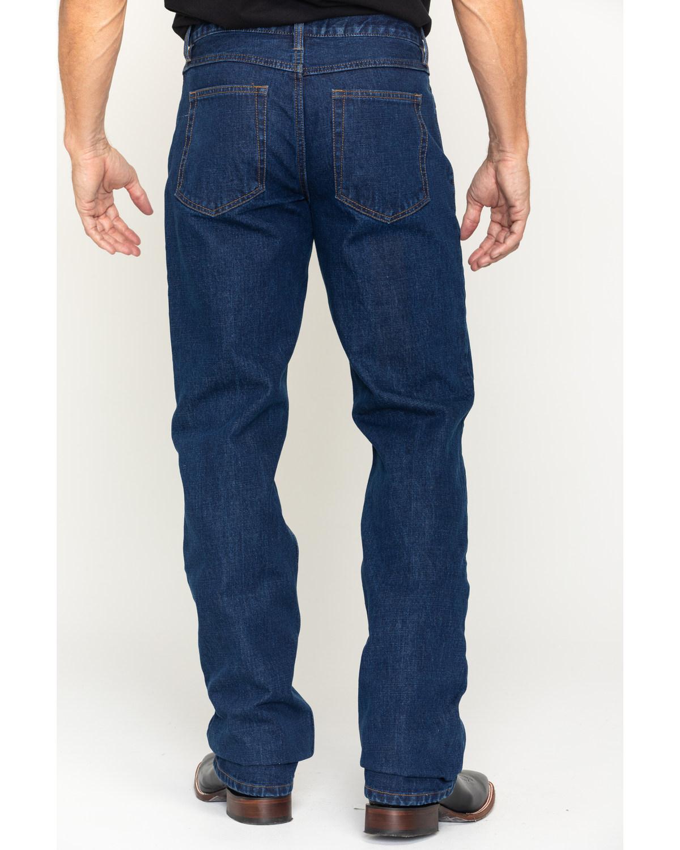 702cbbeac0b Zoomed Image Gibson Men's Bonanza Prewashed Regular Fit Denim Jeans , Dark  Blue, ...
