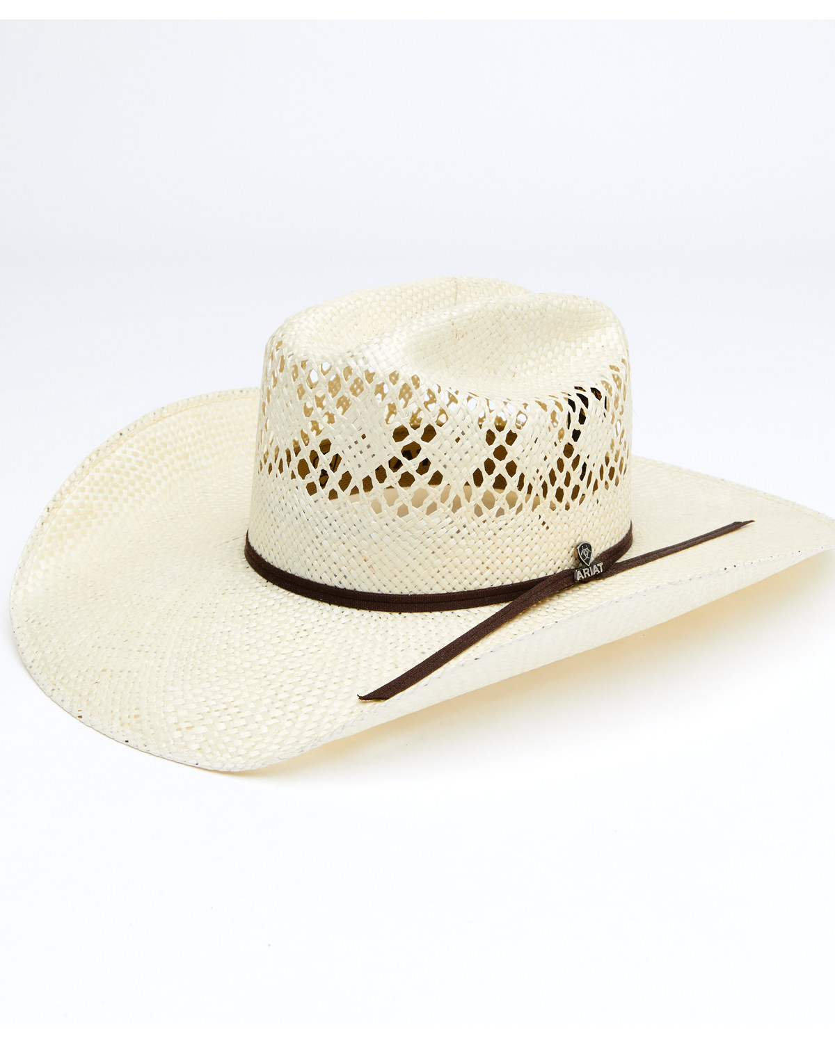 e780cda1b41c0 Ariat Men s Twisted Weave Straw Hat