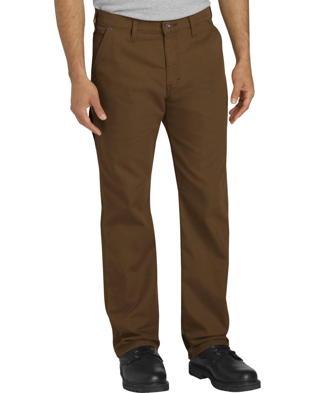 San Francisco nowy koncept eleganckie buty Dickies Men's Brown Tough Max Carpenter Pants - Straight Leg