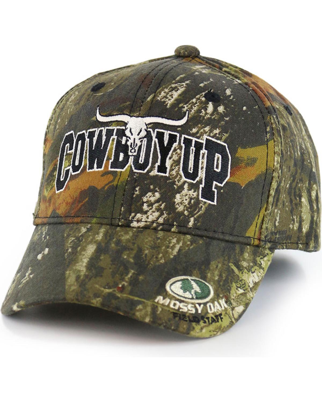 951aaba4d95 Cowboy Up Allover Camo Ball Cap