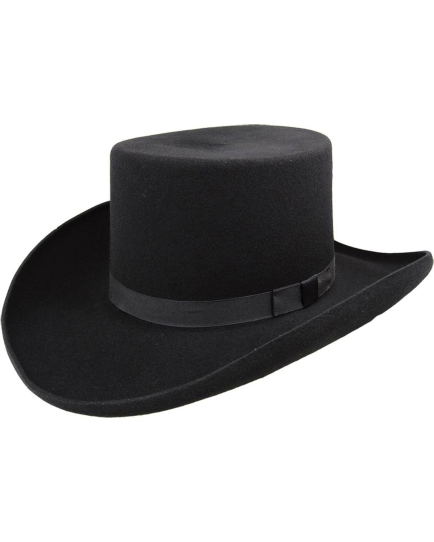 Bailey Western Dillinger Flat Top Hat  a287d5a6e84