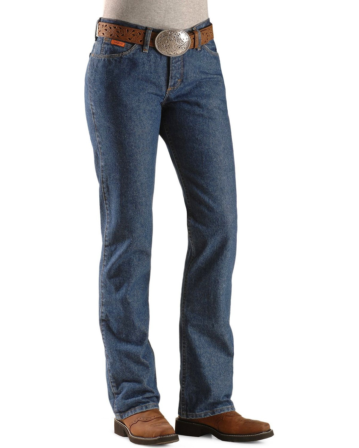 fe35ed04ad52 Wrangler Women s Flame Resistant Boot Cut Western Jeans