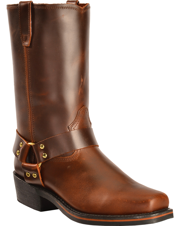 Dingo Jay Harness Boots - Square Toe | Boot Barn