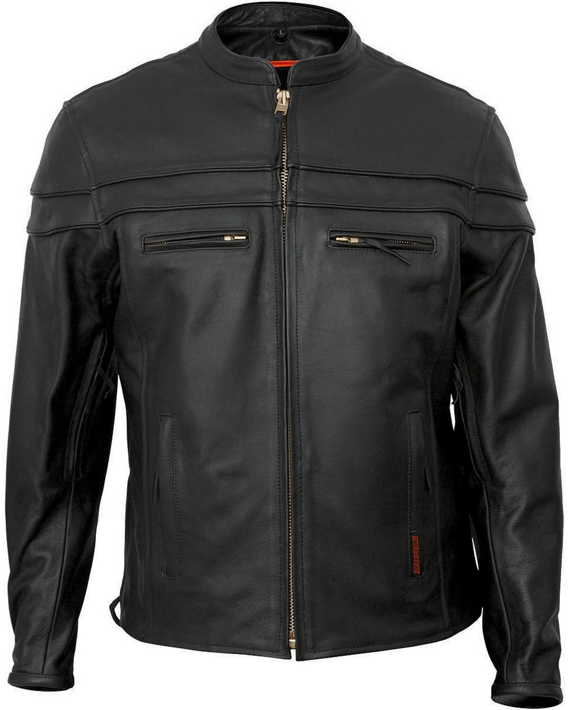 3d2bbf57fcaf Interstate Leather Men s Rebel Motorcycle Jacket