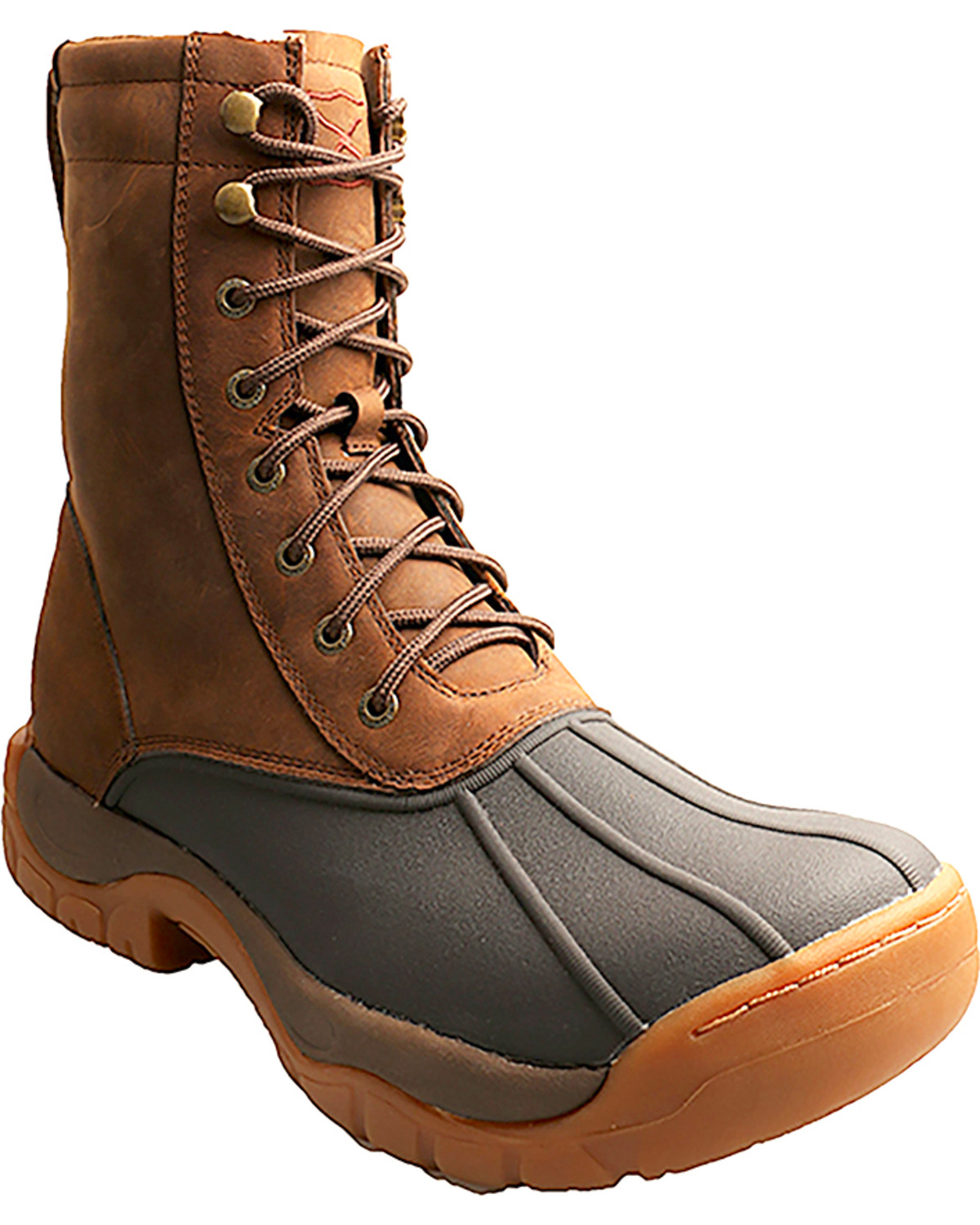 Lace-Up Guide Rubber Boots | Boot Barn