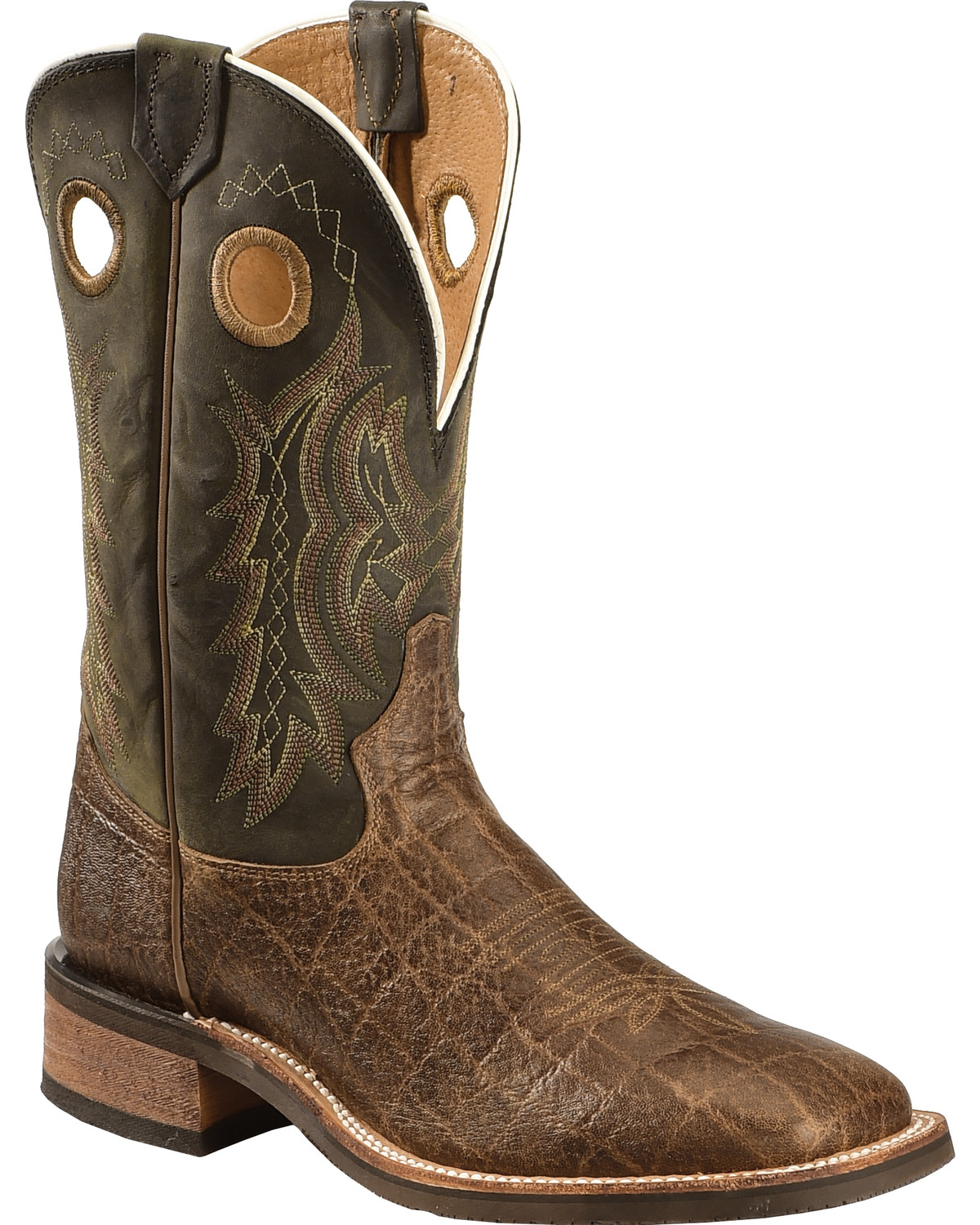 brand new dirt cheap great deals Tony Lama Men's Americana Elephant Grain Print Cowboy Boots - Square Toe