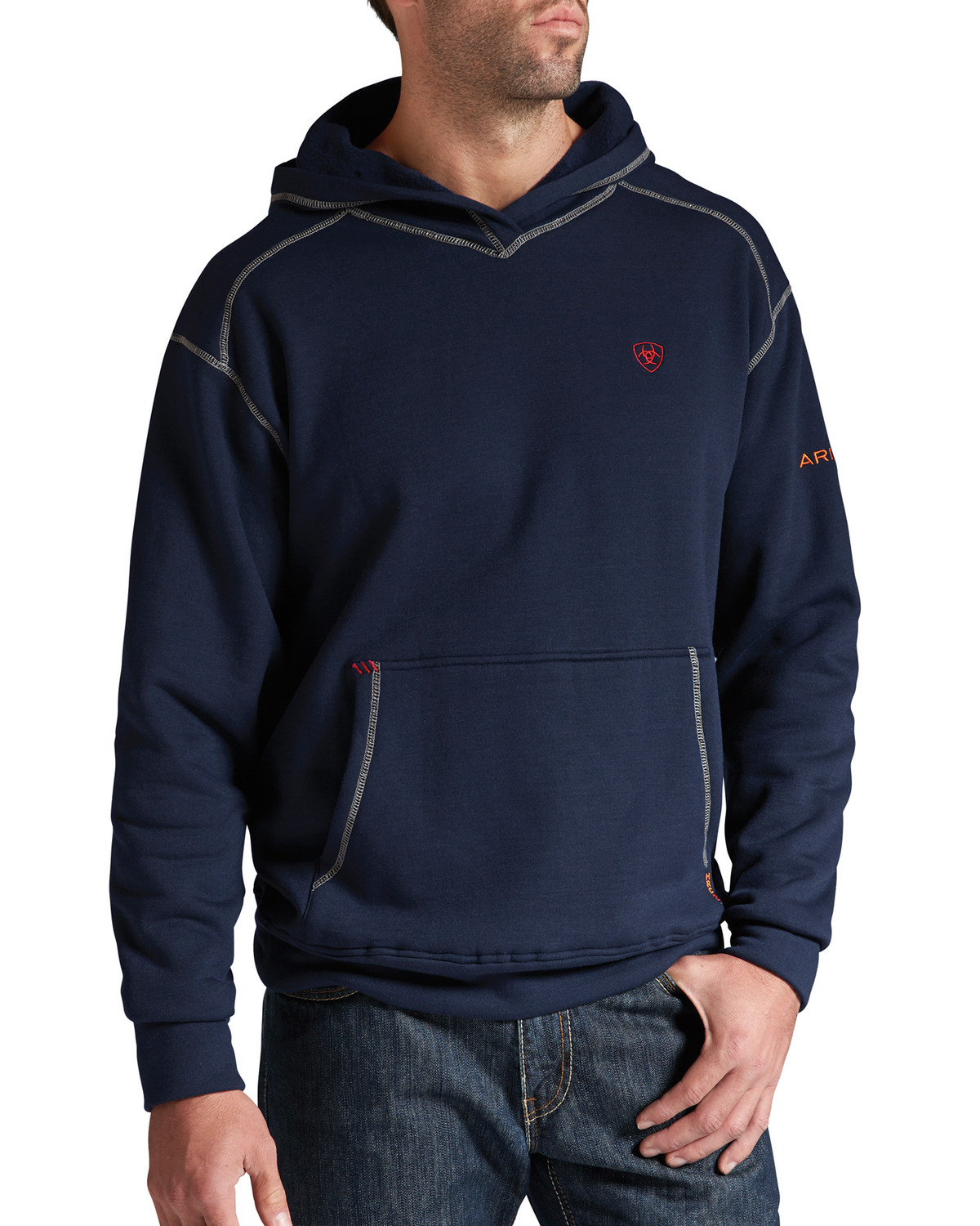 49eb490eaa57 Ariat Flame-Resistant Polartec Hoodie - Big and Tall