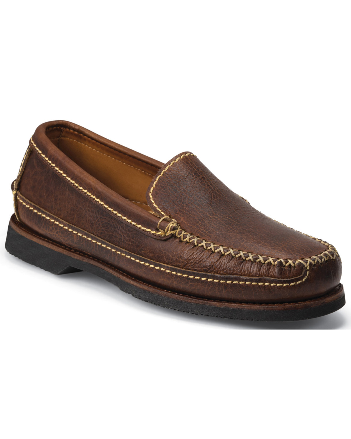Rugged Casual Bison Loafers