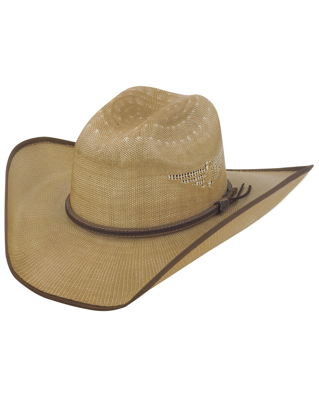 Justin Bent Rail Tan Fenix Straw Cowboy Hat  596f4ec5137
