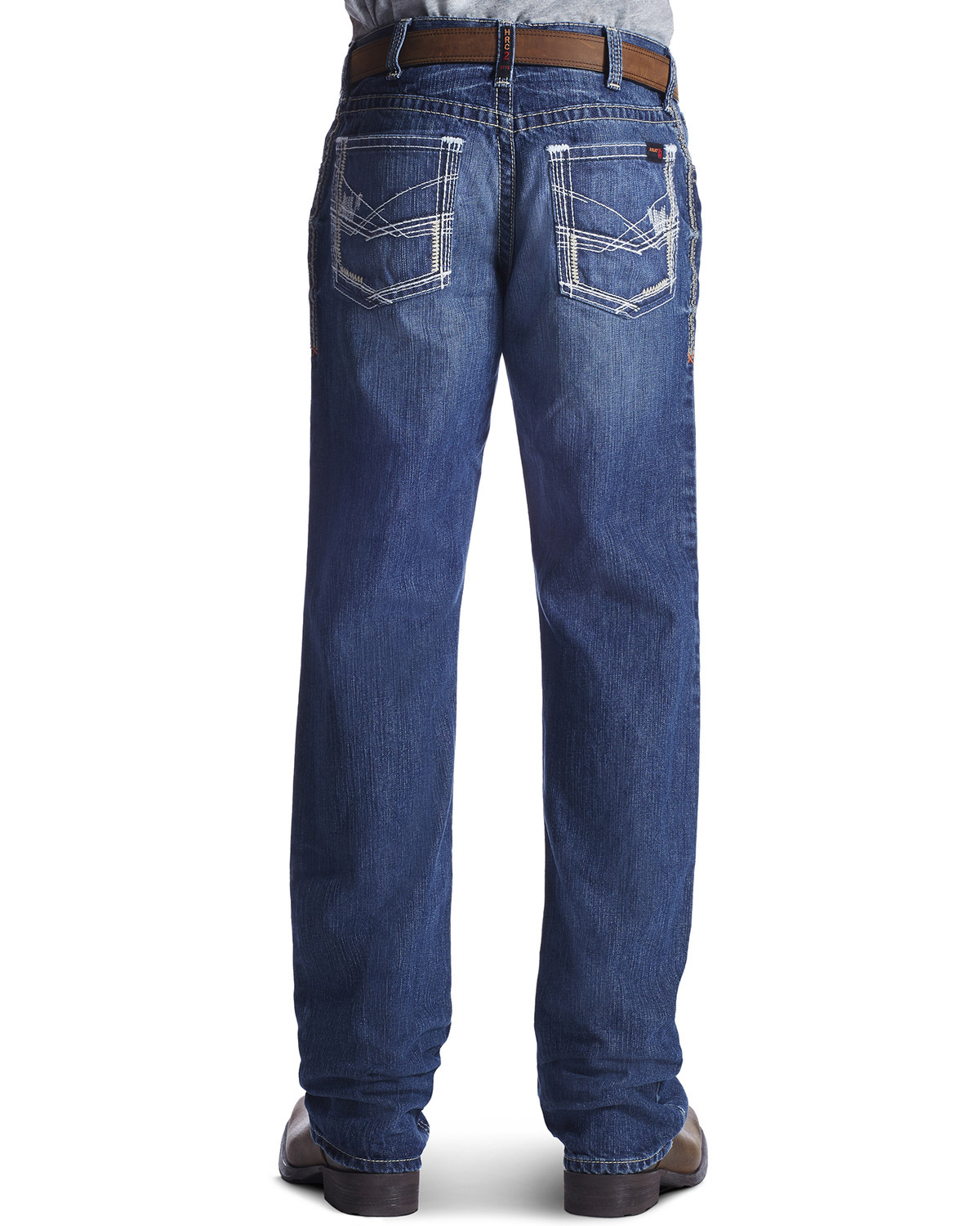 Ariat Men S Fire Resistant M4 Ridgeline Boot Cut Work Jeans Boot Barn