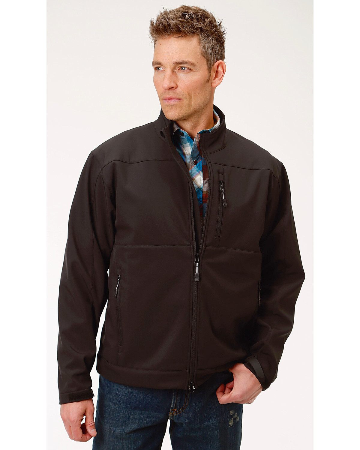 Roper Men S Concealed Carry Soft Shell Jacket Boot Barn