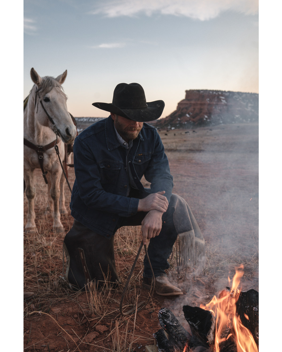 bea0e320e79f Wrangler Men s Western Denim Jacket