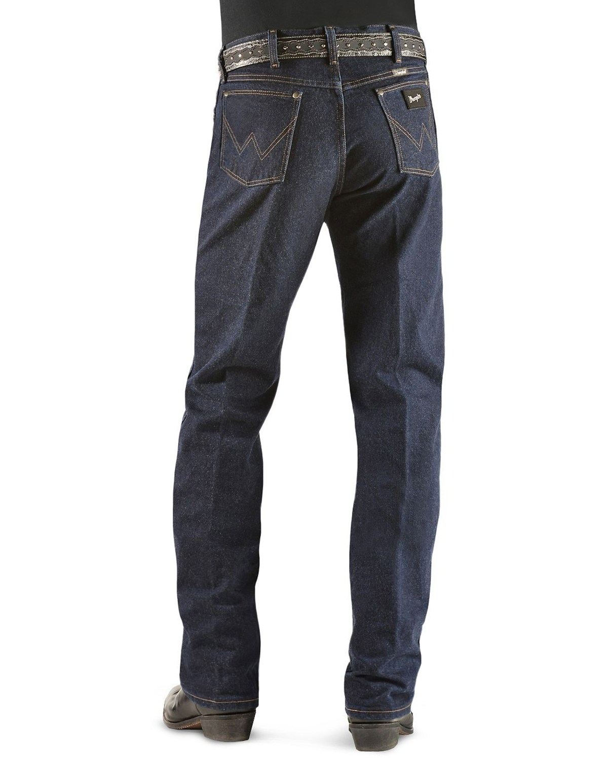 bb986f6a652 Wrangler Original Fit Men's Silver Edition Jeans