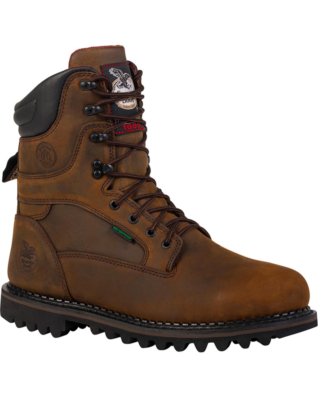 Georgia Men's Arctic Toe Waterproof Insulated Work Boots ...
