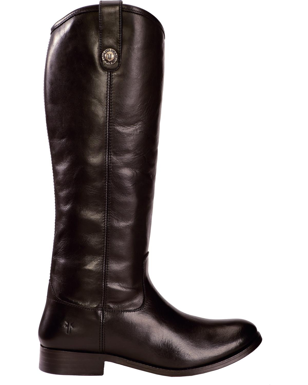 Frye Women S Melissa Button Riding Boots Wide Calf