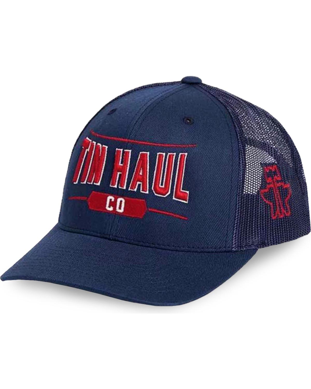 f3ce3abcdfc Tin Haul Men s Navy Co. Mesh Back Baseball Cap