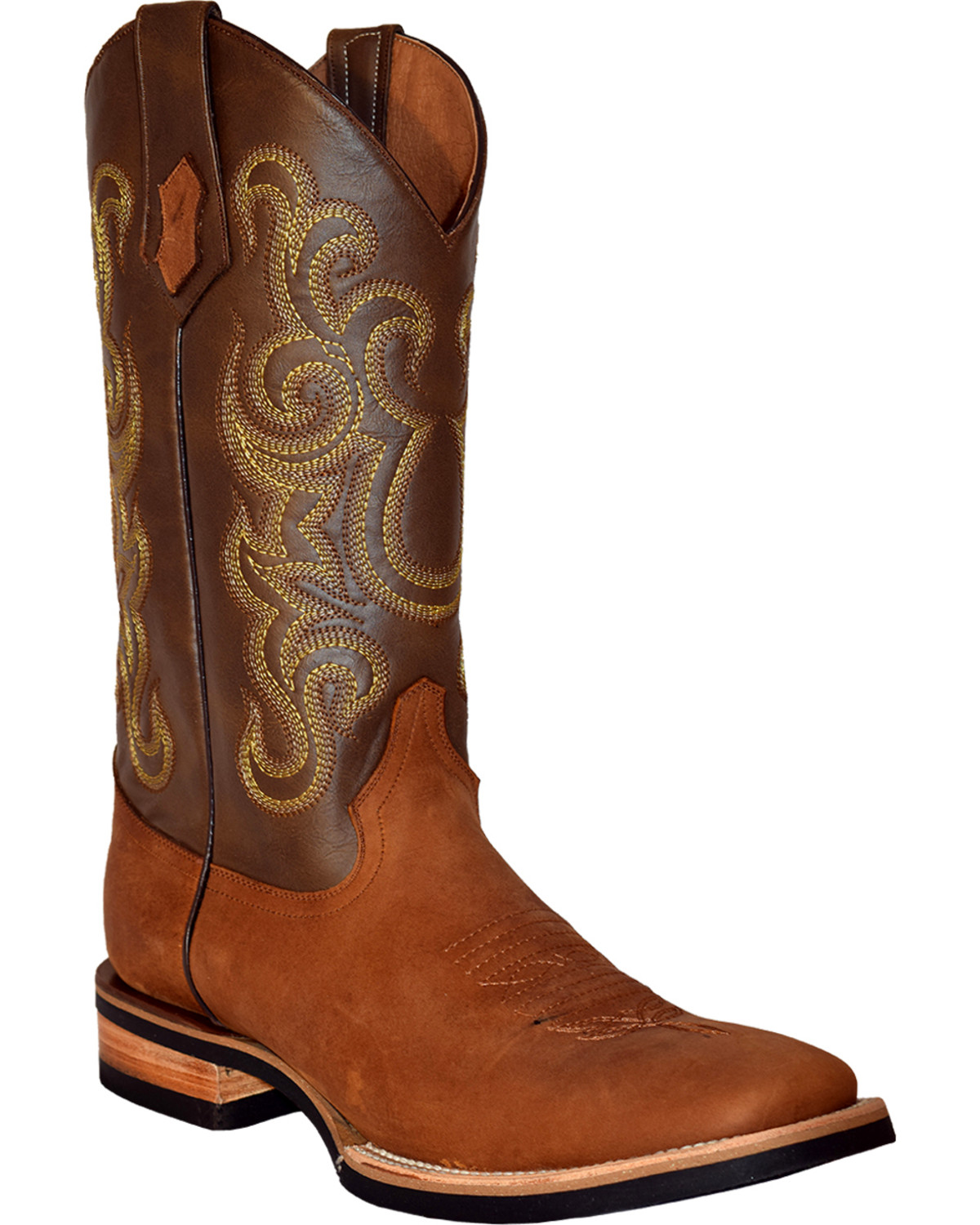 94d06db70a0 Ferrini Men's French Calf Leather Cowboy Boots - Square Toe