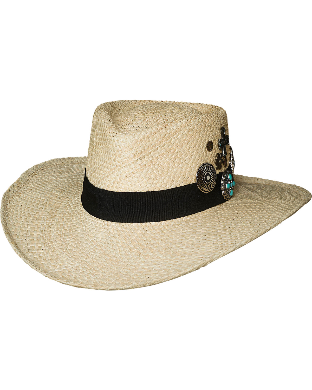 f9697442ab271 Bullhide Women s Natural Wild As You Straw Hat