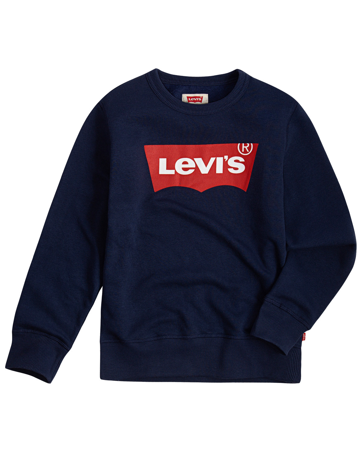 Levis Boys' Dress Blues Batwing Pullover Sweater
