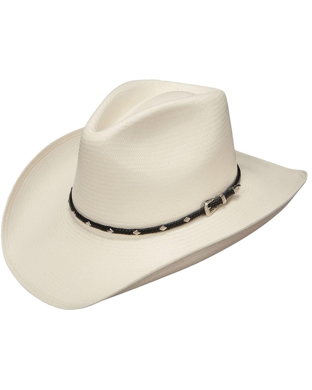 Stetson Diamond Jim 8X Shantung Straw Cowboy Hat  3f6f1b6bf42