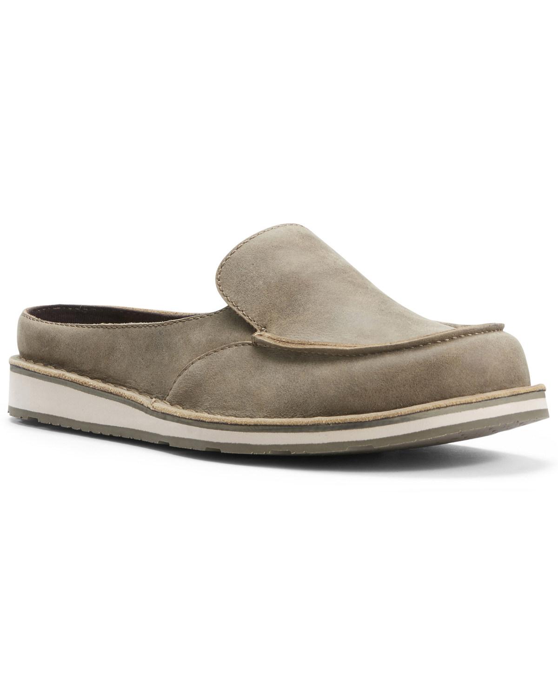 Slide Ariat Toe Shoes Moc Cruiser Brown Women's 5K1JulF3Tc