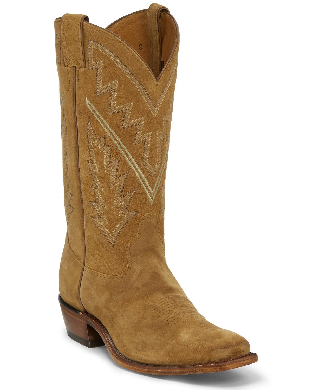 2ae038448bf Tony Lama Men's Bingham Suede Western Boots - Square Toe