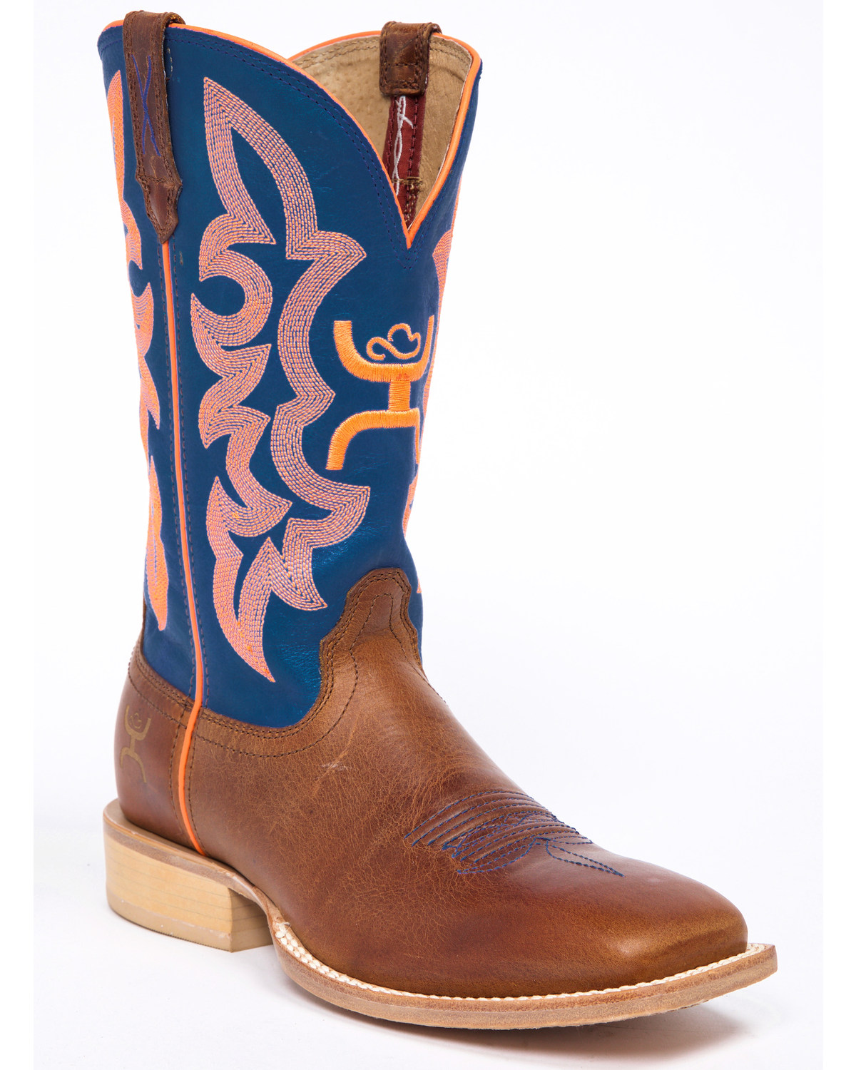 a10ef0d99d6 Hooey by Twisted X Neon Blue Cowgirl Boots - Wide Square Toe