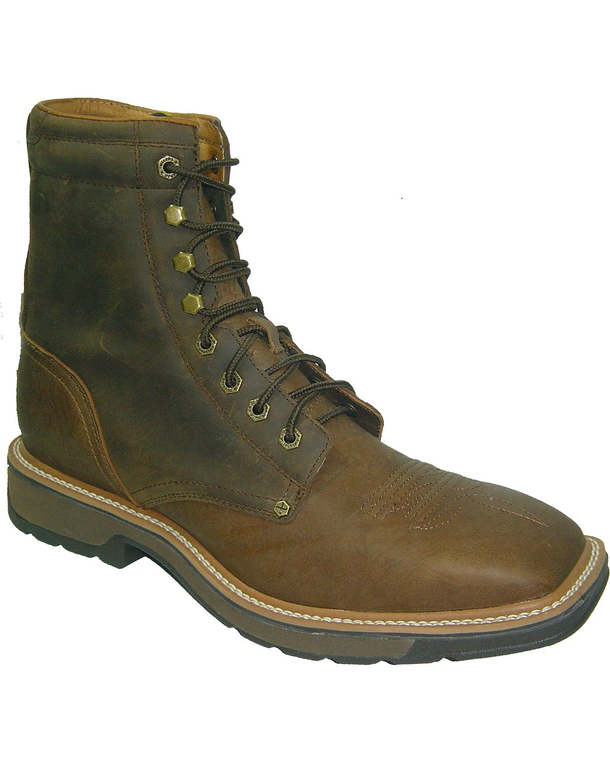 Twisted X Lite 8 Quot Lace Up Work Boots Steel Toe Boot Barn