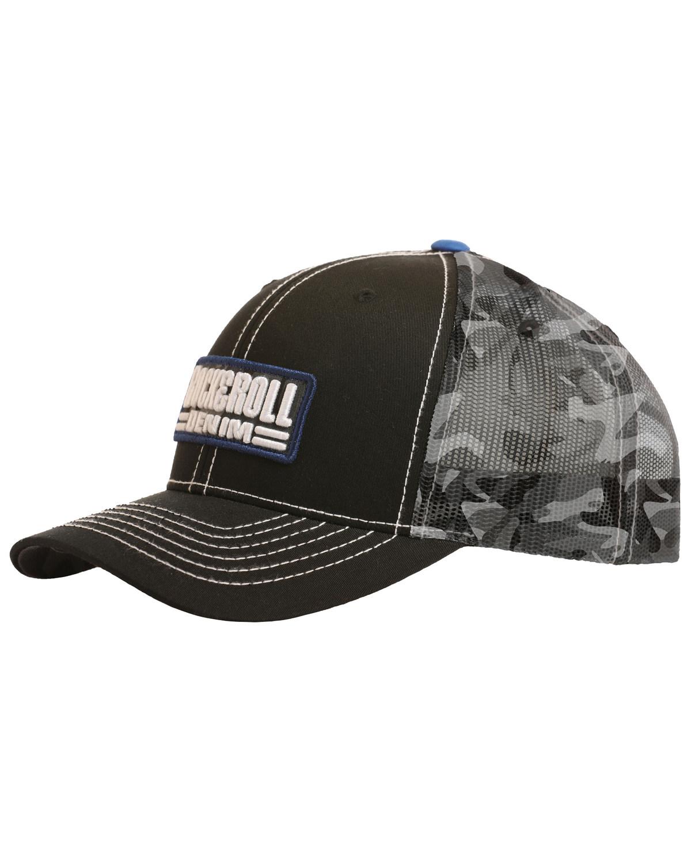 165520239 Rock & Roll Denim Men's Camo Trucker Cap