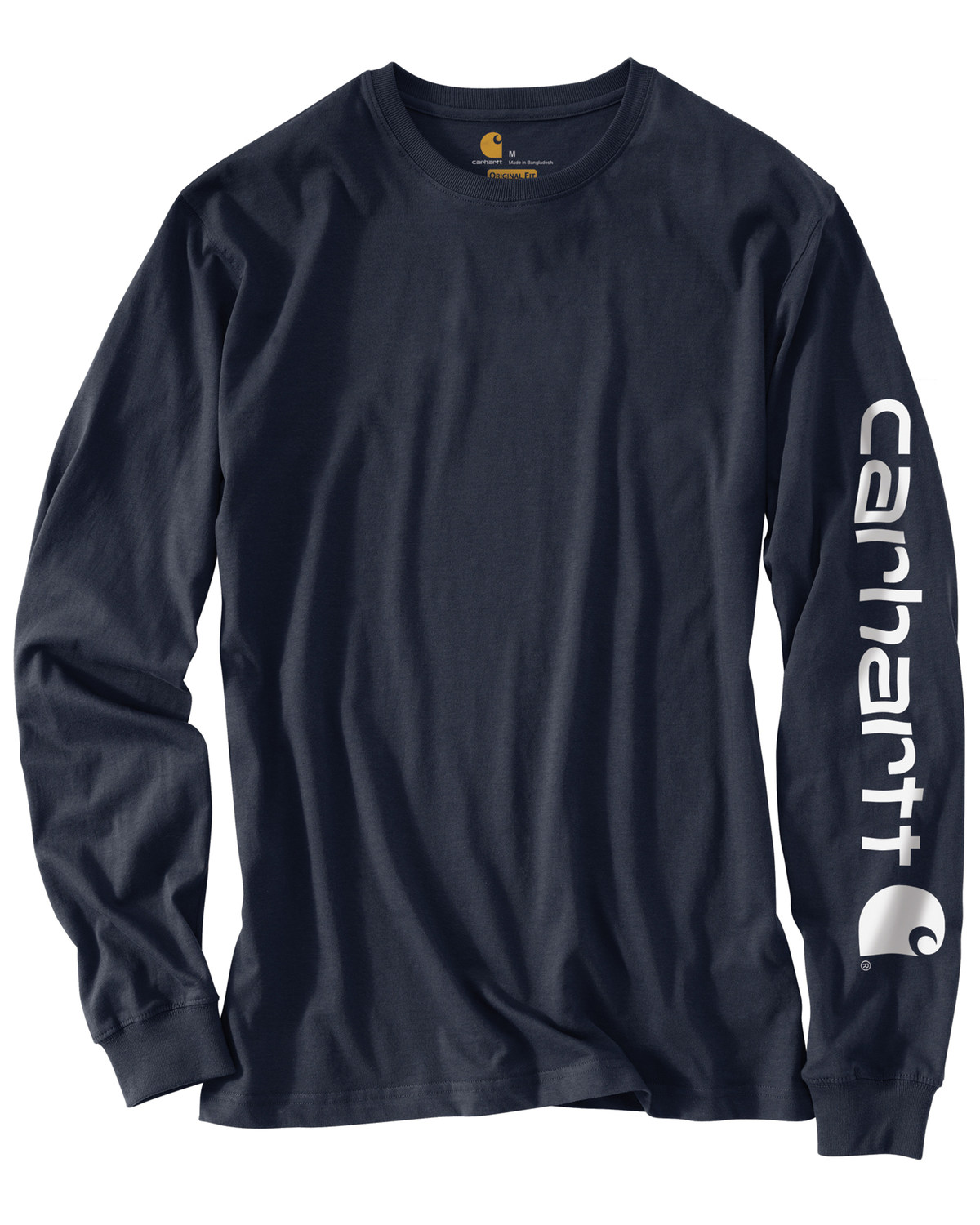375f1e1eb Zoomed Image Carhartt Men's Long Sleeve Graphic T-Shirt, Navy, ...