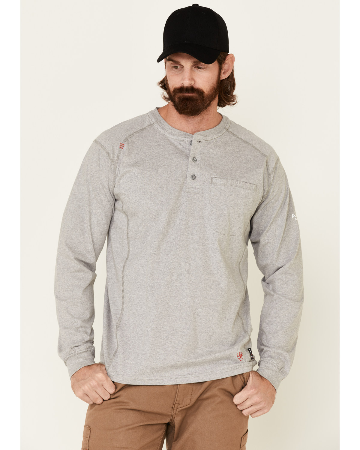 Ariat FR Henley Long Sleeve