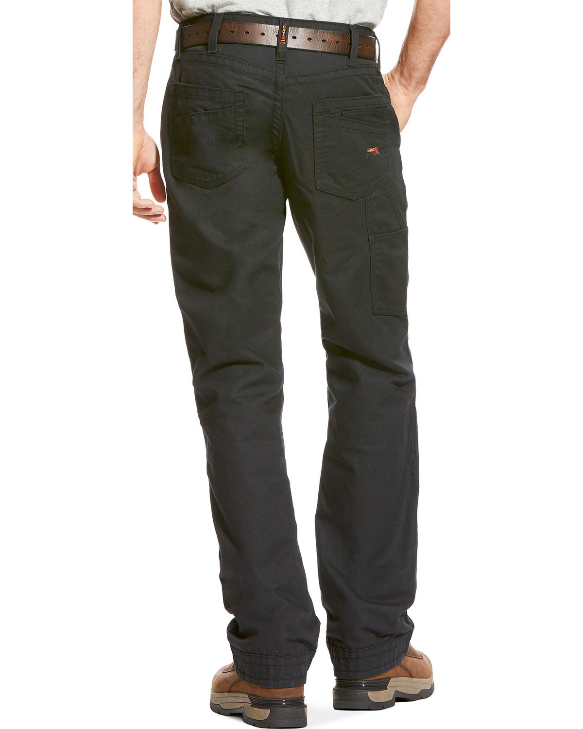 Ariat Men S Fr M4 Black Workhorse Pants Boot Cut Boot Barn