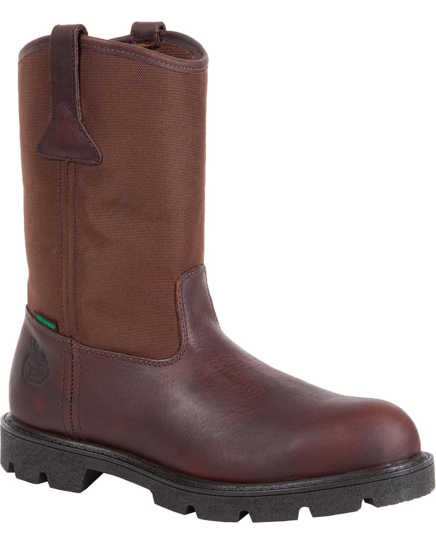 717905a7458 Georgia Men's Homeland Waterproof Wellington Boots