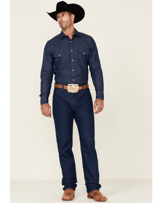 dcfc5fa5 Zoomed Image Wrangler 13MWZ Cowboy Cut Original Fit Prewashed Jeans ,  Indigo, hi-res