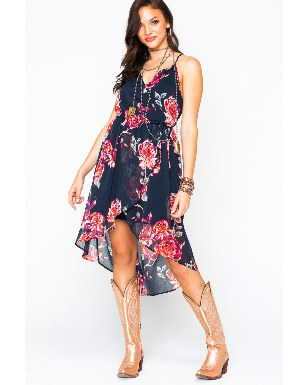 Chiffon Hi-Low Dresses