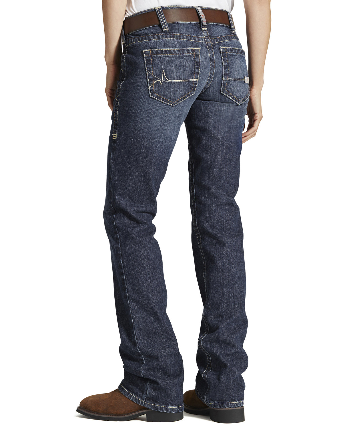 c0ffd9713781 Ariat Women s Mid Rise Flame Resistant Boot Cut Jeans