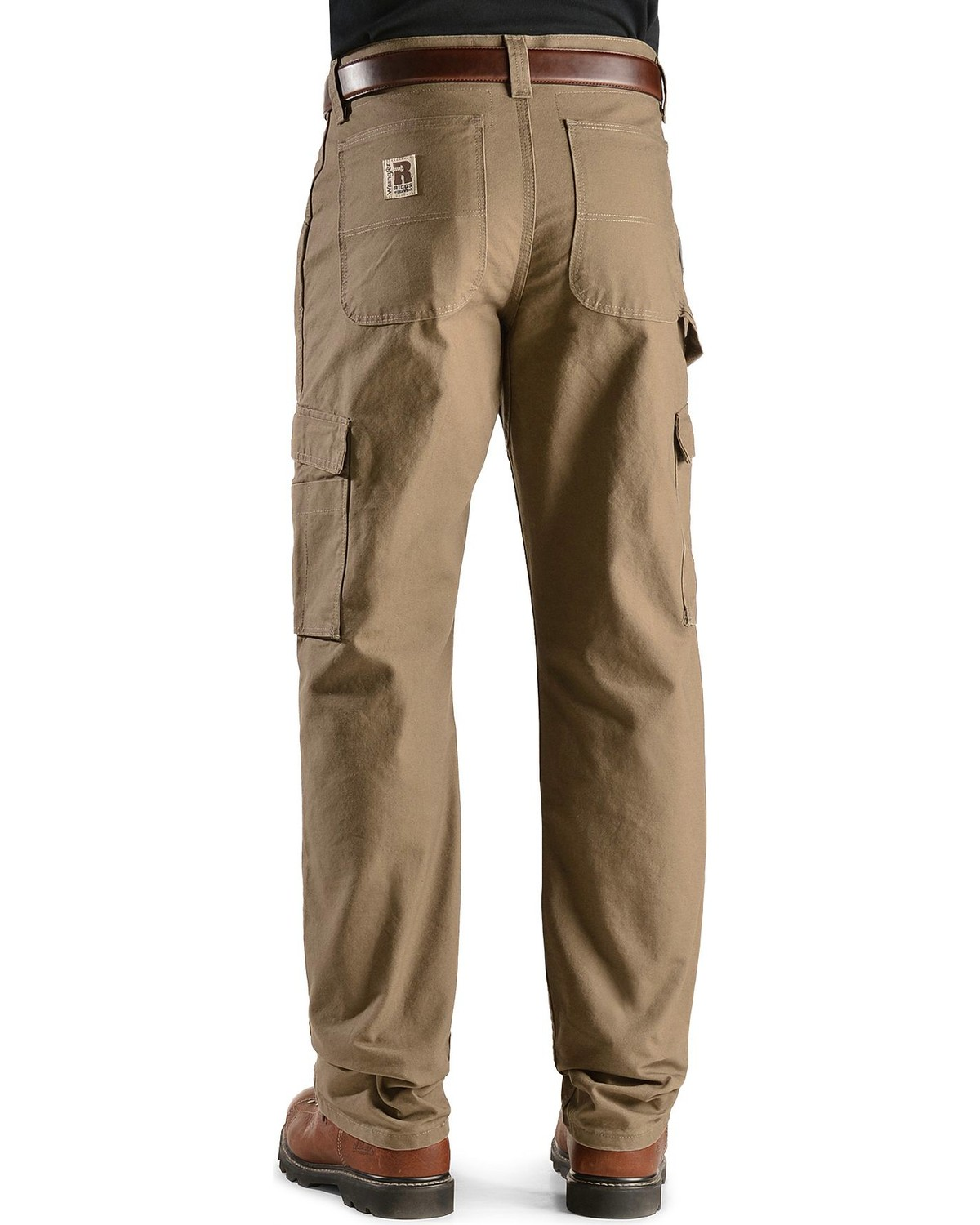 d7813a24bb6670 Zoomed Image Wrangler Riggs Cordura Canvas Work Pants, , hi-res