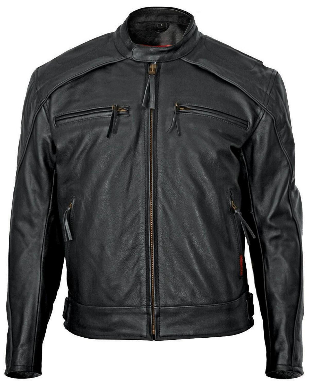 Milwaukee Men S Warrior Leather Motorcycle Jacket Boot Barn