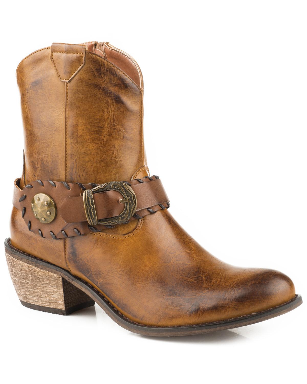 Roper Women's Ankle Harness Western