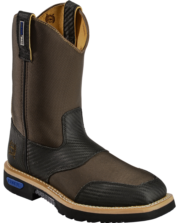bddc785bdec Cinch Men's WRX CT SafetyToe Work Boots   Boot Barn