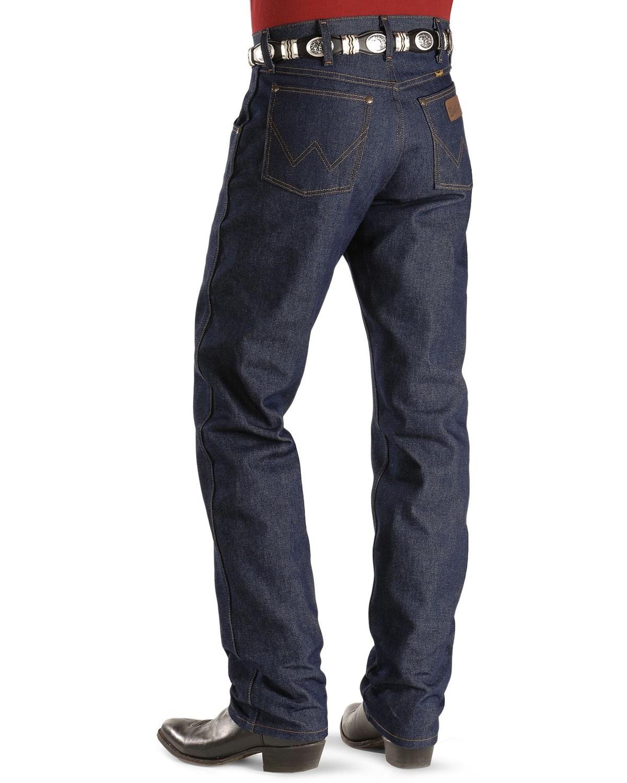b605c46a Zoomed Image Wrangler 47MWZ Premium Performance Cowboy Cut Rigid Regular  Fit Jeans, Indigo, hi-res