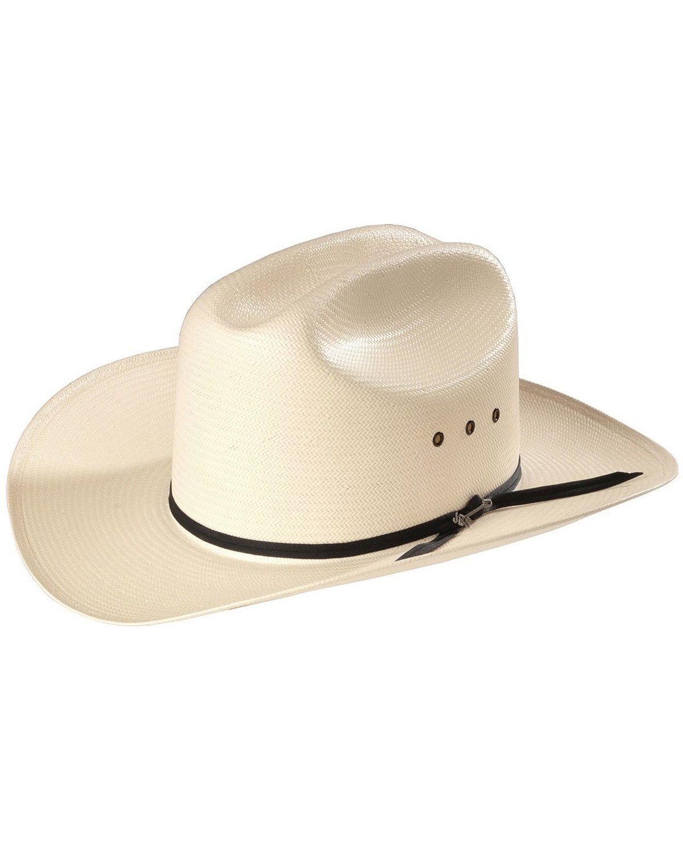 552da8b03 Stetson Rancher Straw Cowboy Hat