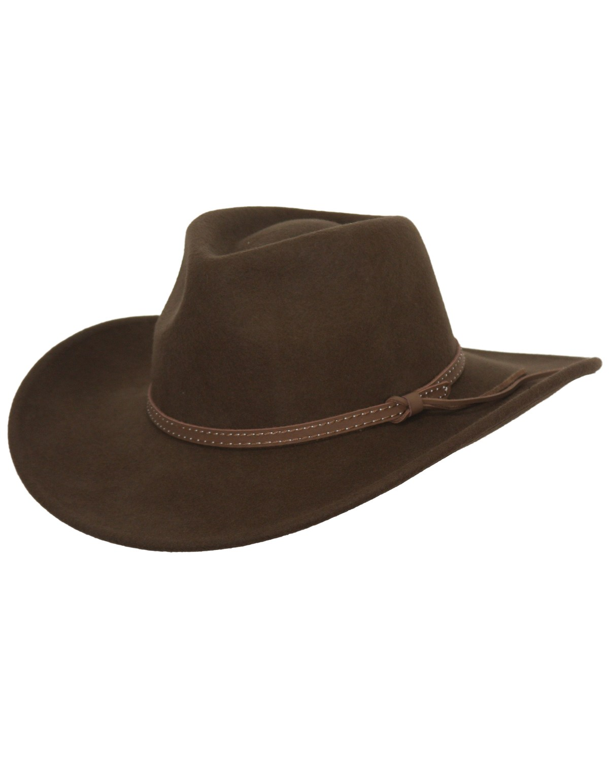 Outback Trading Co. Cooper River Crushable Australian Wool Hat ... 955a30f8799