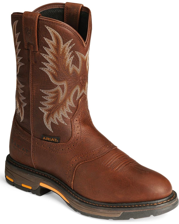 Ariat Men's Workhog Work Boots | Boot Barn