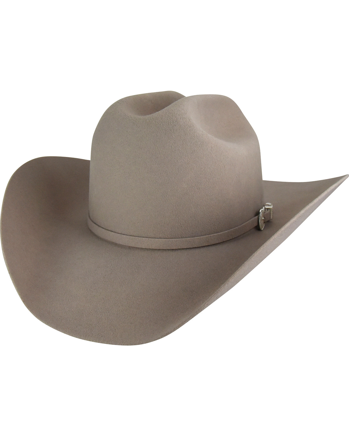 Bailey Men s Silver Belly Lightning 4X Cowboy Hat  be618a36232