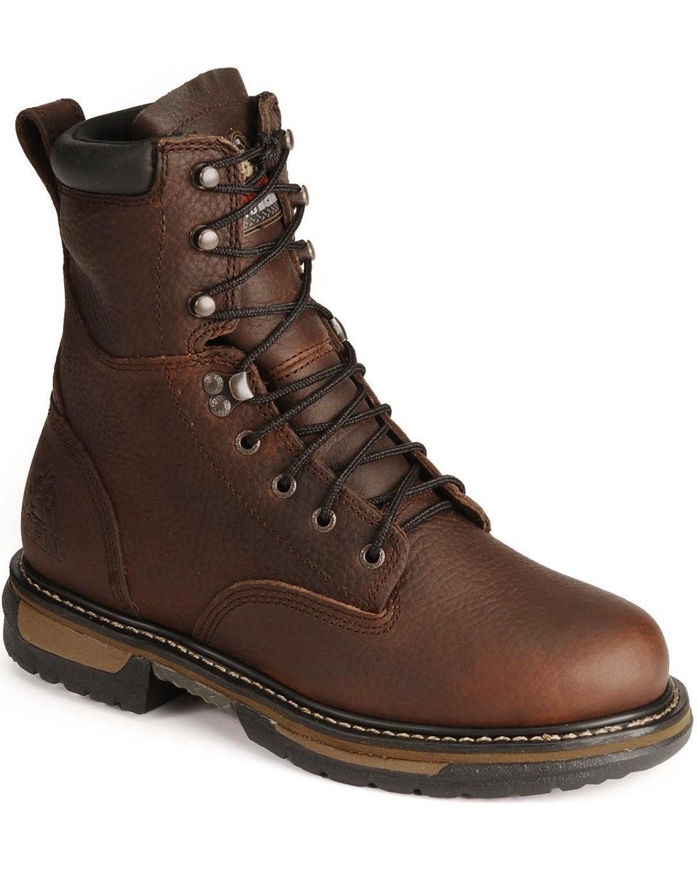 Rocky Men s IronClad Steel Toe Waterproof Work Boots  2e7e7f8ecfea