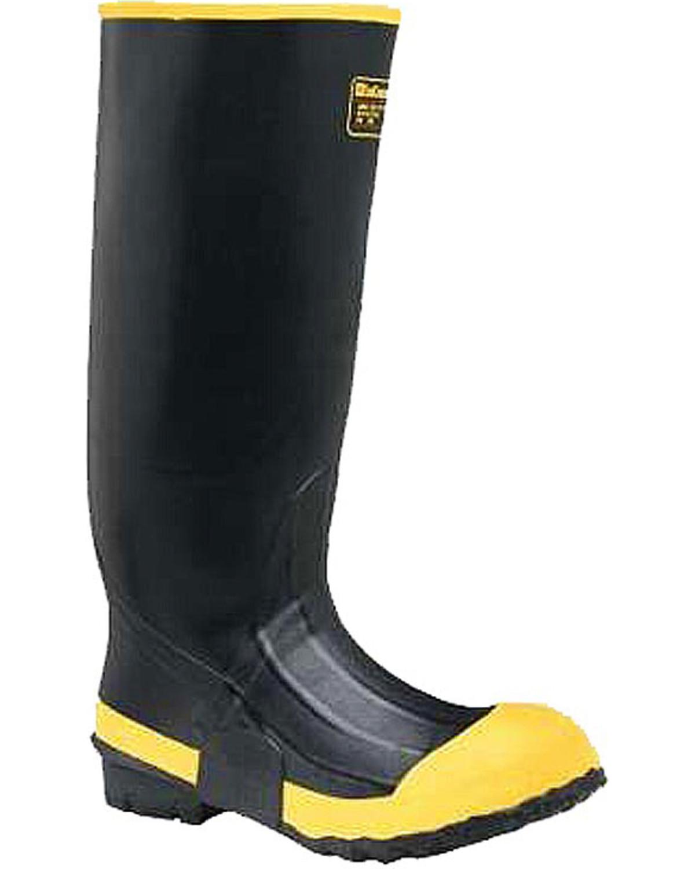 f2c8a3731f2 LaCrosse Men's Premium Knee Steel Toe Work Boots