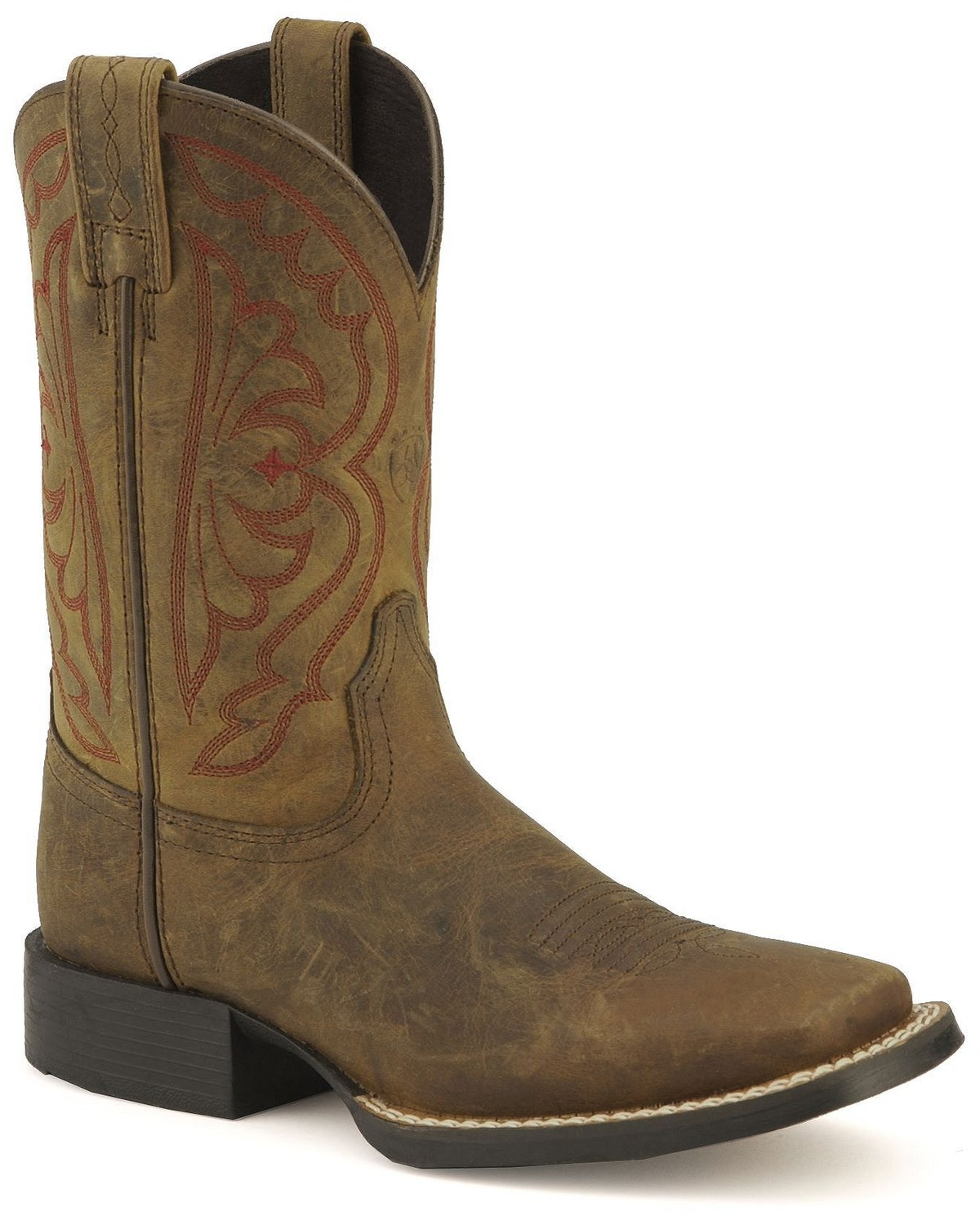 3180faba042 Ariat Boys' Quickdraw Cowboy Boots - Square Toe